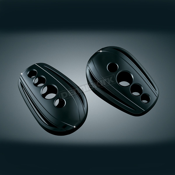 Kuryakyn Black Hole Covers for OEM Mirrors - 1756
