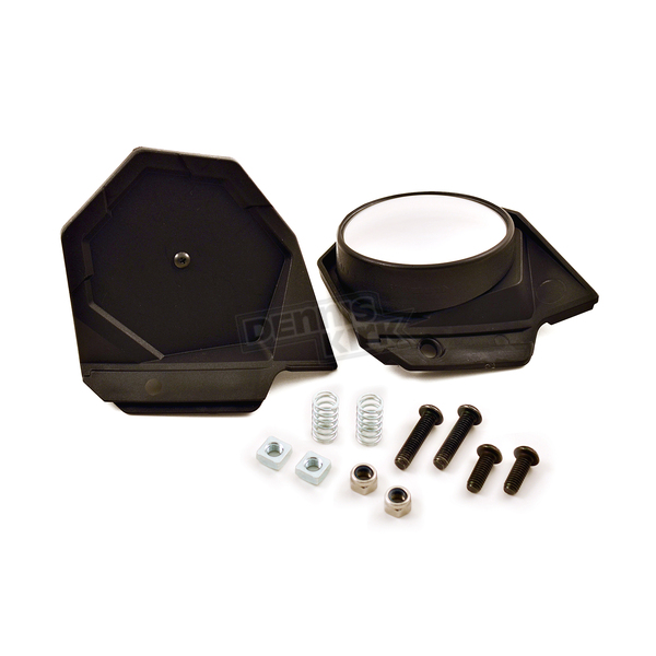 PowerMadd Black Sentinel Mirror Kit - 34455