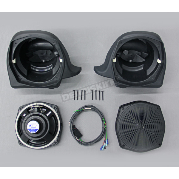 J&M Corporation 7 1/4 in. Lower Fairing Speaker Kit - HLPS-7252