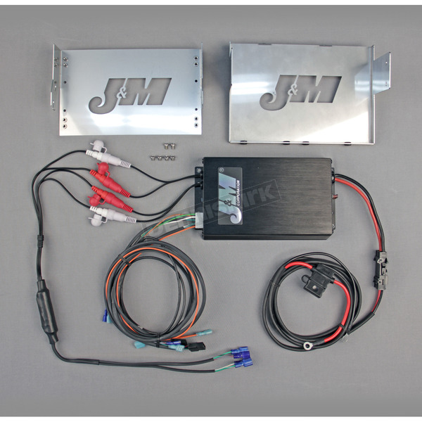 J&M Corporation Performance Series 360 Watt 4-Channel Amplifier Kit - JMAA-3600HC06-SG