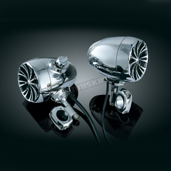 Kuryakyn Bluetooth Sound of Chrome Speaker Kit - 834