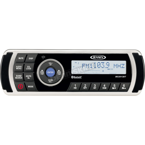 Jensen AM/FM/USB Waterproof Stereo w/Bluetooth - MS2013BT
