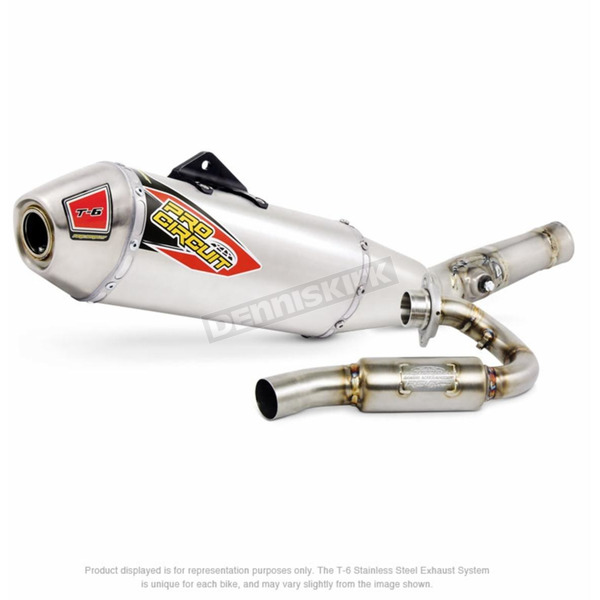 Pro Circuit T-6 Stainless Exhaust System - 0121545G