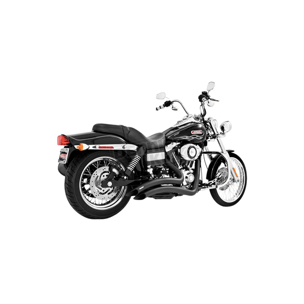 Freedom Performance Black Sharp Curve Radius Exhaust System - HD00219
