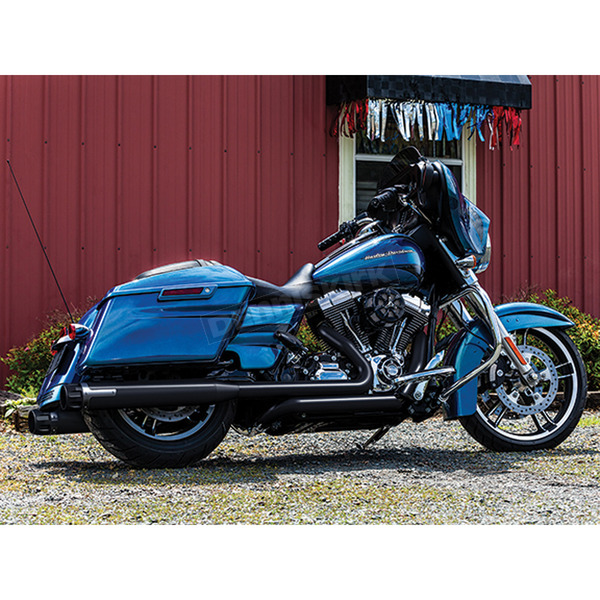 Crusher Black Maverick 4 in. Slip-On Mufflers - 564