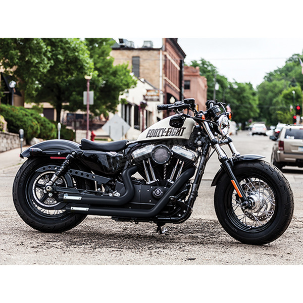 Crusher Black Maverick 2-into-2 Full Exhaust System - 570
