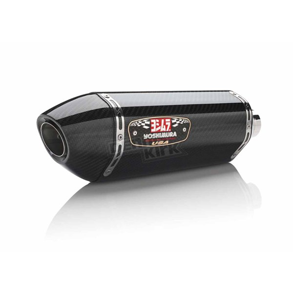 Yoshimura Stainless/ Carbon/ Carbon R-77 Race Series Exhaust System - 137000J220
