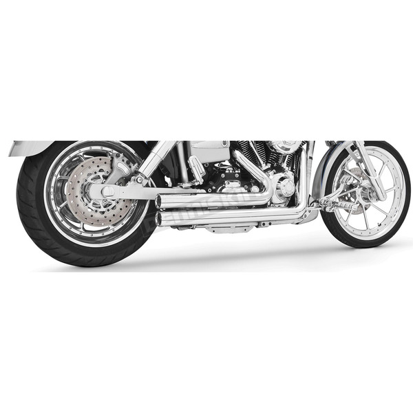 Freedom Performance Chrome Independence Shorty Exhaust System - HD00018
