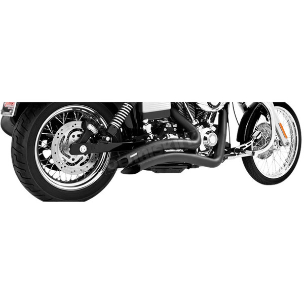 Freedom Performance Black Sharp Curve Radius Exhaust System - HD00259