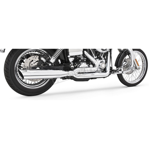 Freedom Performance Chrome Union 2-Into-1 Exhaust System - HD00062