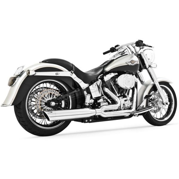 Freedom Performance Black Union 2-Into-1 Exhaust System - HD00109