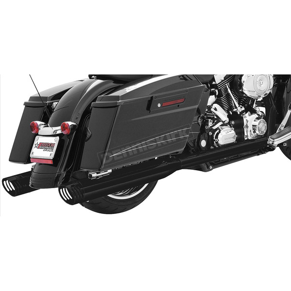 Freedom Performance Black True Duals Racing Exhaust System - HD00206