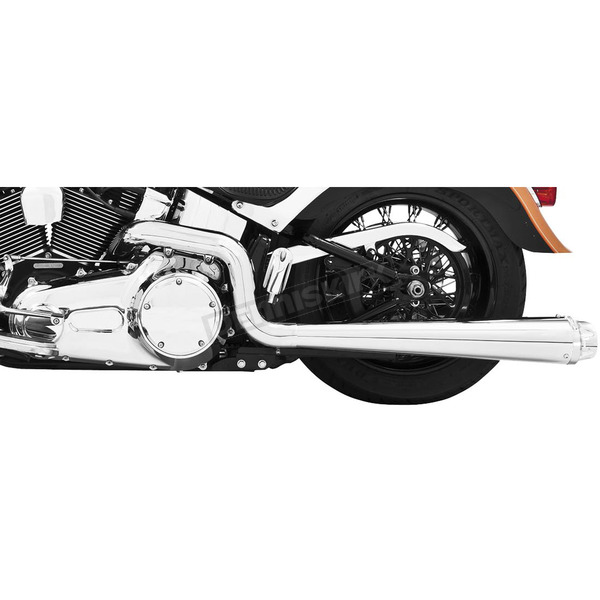 Freedom Performance Chrome American Outlaw Dual Exhaust System - HD00288