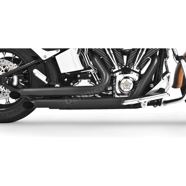 Freedom Performance Black Declaration Turn Out Exhaust System - HD00251