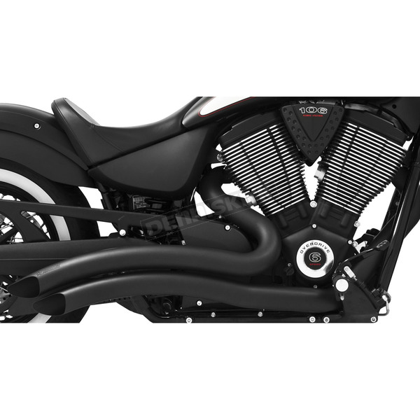 Freedom Performance Black Sharp Curve Radius Exhaust System - MV00012
