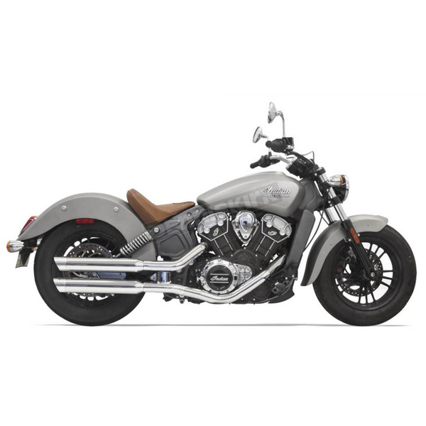 Bassani Classic Slip On Mufflers with Tips  - 8S17SC