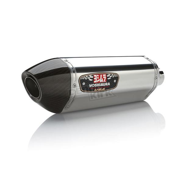 Yoshimura Stainless/Stainless/Carbon Fiber Race Series R-77 Exhaust System - 147010J520