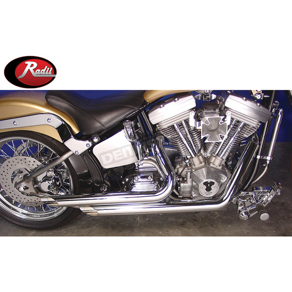 Chrome Side Cut Monster Drag Pipes - 30-0556