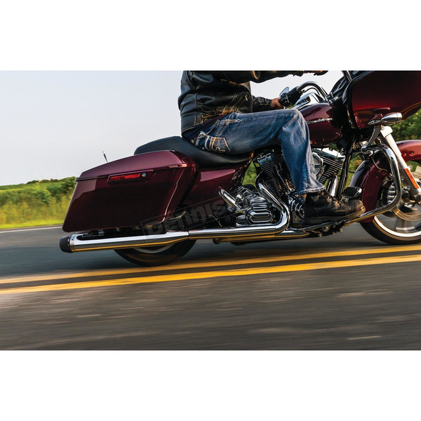 Crusher Chrome Crusader Touring Slip-Ons - 627