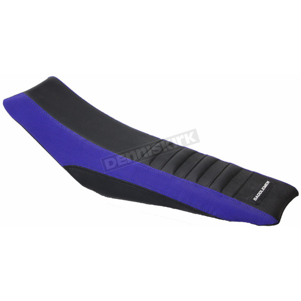 Saddlemen Blue Pleated Extreme Gripper Sides Replacement Seat Cover - MXY-195-0003