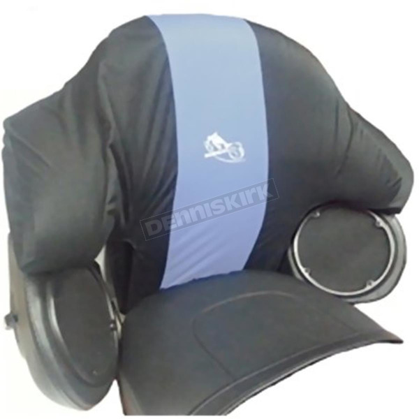 BikeSheath Passenger Backrest Rain Cover - 03164