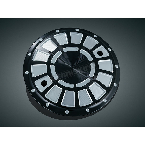 Bahn Black/Silver Bahn Clutch Cover  - 7630