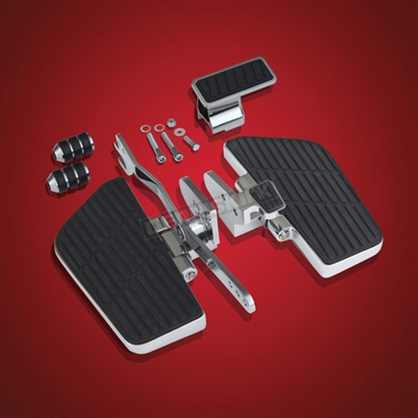 Show Chrome Accessories Chrome Driver Floorboard Kit - 52-834