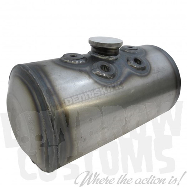 Lowbrow Customs Dimpled Steel Oil Tank - 004109