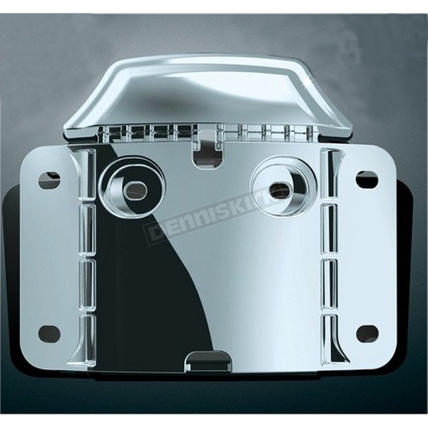 Kuryakyn Mounting Backplate for Curved License Plate Frame - 3146
