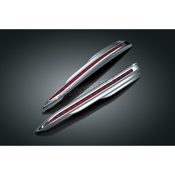 Kuryakyn L.E.D. Vertical Rear Run-Brake Light Strips - 3133