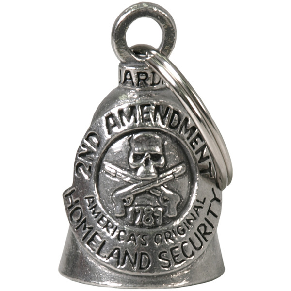 Hot Leathers Pewter 2nd Amendment Guardian Bell - BEA2001