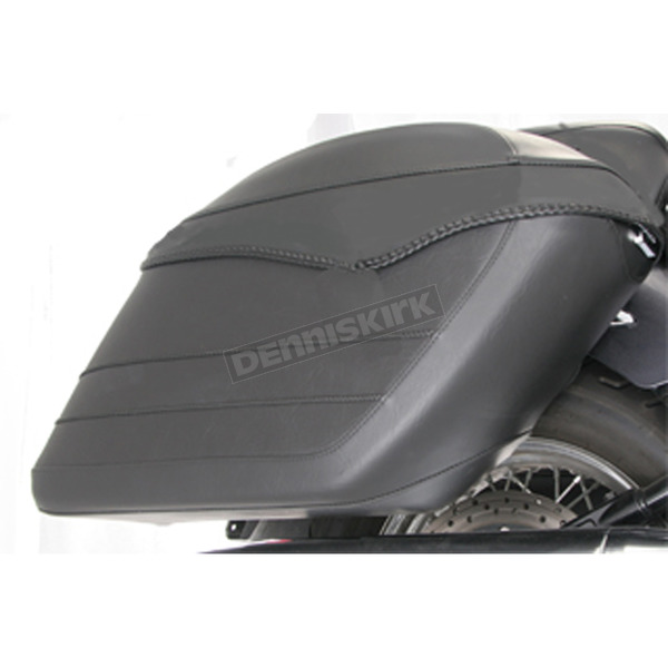 Mustang Seats Covered Hard Saddlebags - 13301