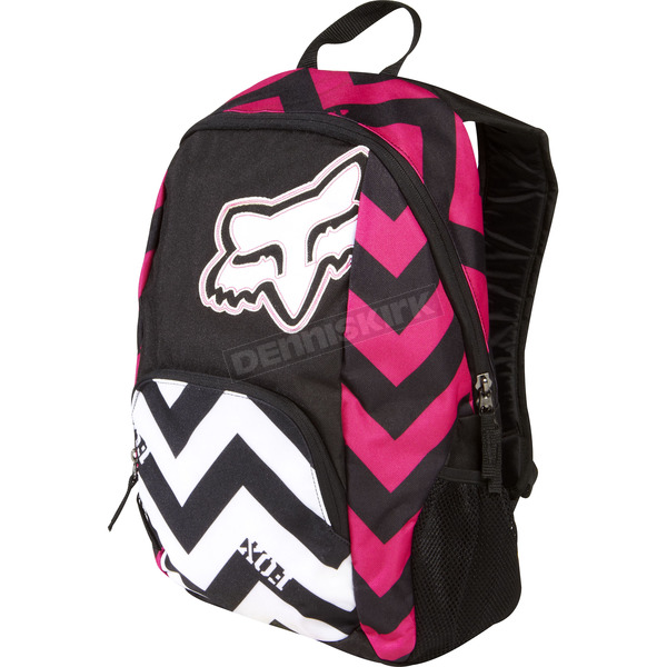 Fox Black/White Road Trip Backpack - 04212-018