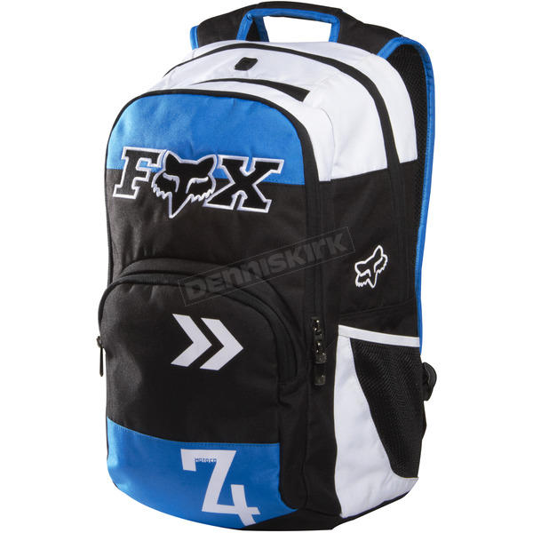 Fox Blue/White Lets Ride Backpack - 07187-025-OS
