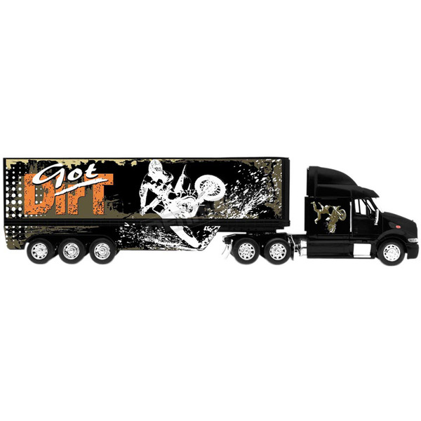 New Ray Toys Got Dirt Long Hauler Rig 1:32 Scale Die Cast Model - ss-14203a