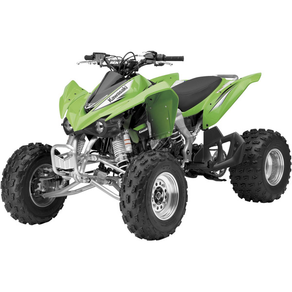 New Ray Toys Kawasaki KFX450R 1:12 Scale Die-Cast ATV Model - 57503