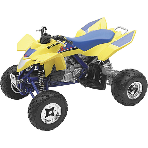 New Ray Toys Suzuki LTR450 1:12 Scale Die-Cast ATV Model - 43393
