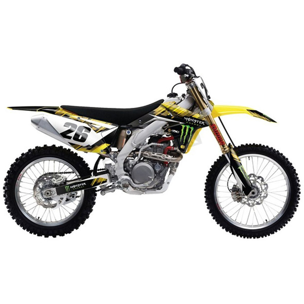 Factory Effex Monster Energy Graphics Kit - 18-02424
