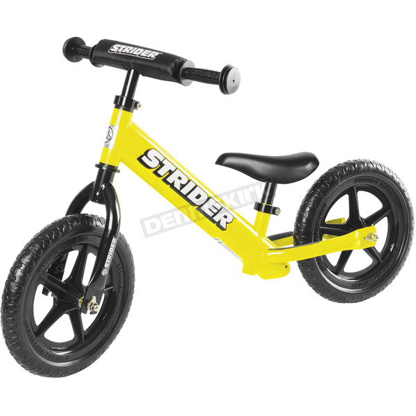 Strider Kids Yellow 12 in. Sport Balance Bicycle - ST-S4YE