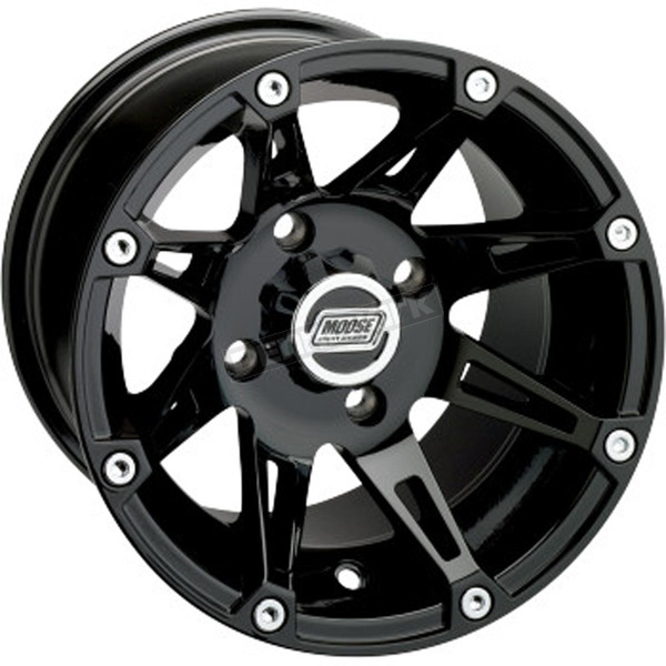 Gloss Black 387X 12x7 Wheel - 0230-0626