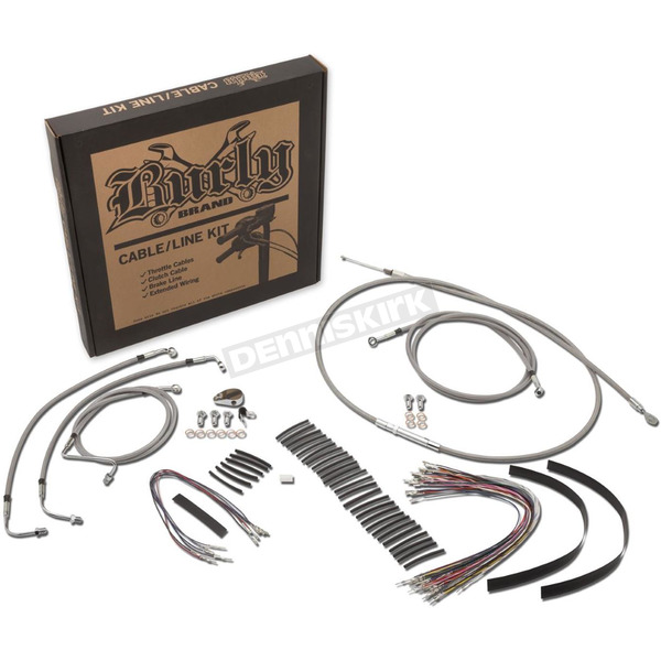 Burly Brand 15 in. Handlebar Installation Kit w/ABS - B30-1105