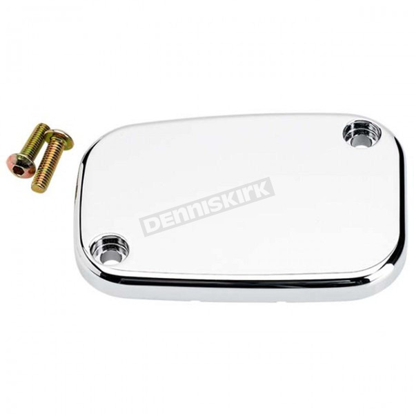 Joker Machine Chrome Smooth Front Master Cylinder Cover - 08-004C