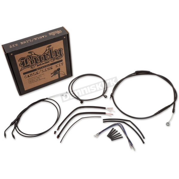 Burly Brand 14 in. Handlebar Installation Kit (w/o ABS) - B30-1107