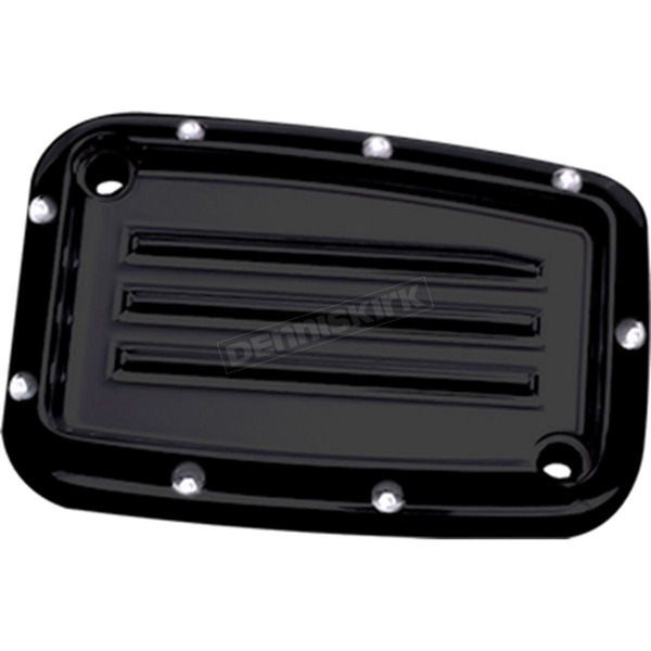 Covingtons Customs Black Dimpled Master Cylinder Cover - C1168-B