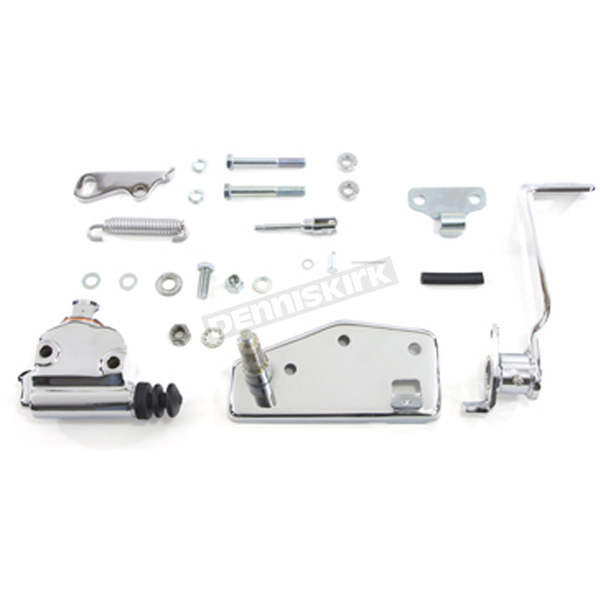 V-Twin Manufacturing Chrome Forward Brake Control Kit - 22-0506