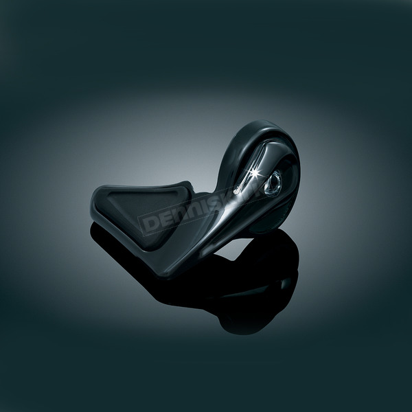 Gloss Black Kinetic Throttle Boss - 6355