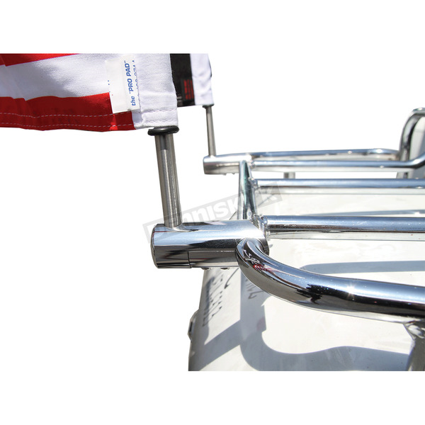 Pro Pad Extended Style Luggage Rack 1/2 in. Flag Mount For 9 in Pole - RFM-RDHB12