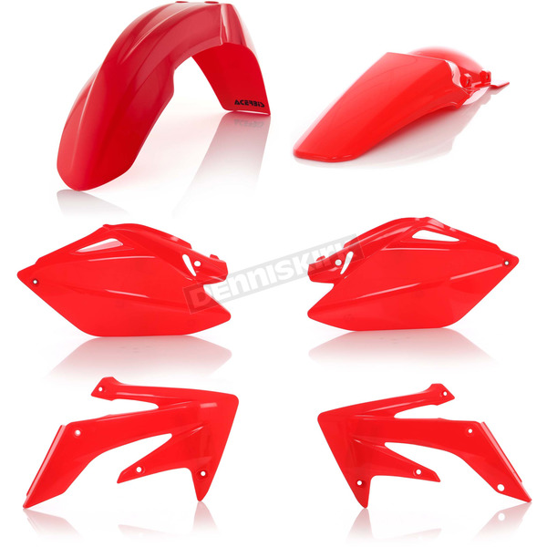 Acerbis Red Standard Replacement Plastic Kit - 2041040004