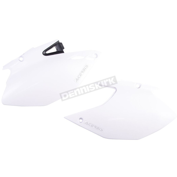 Acerbis White Side Panels - 2106870002