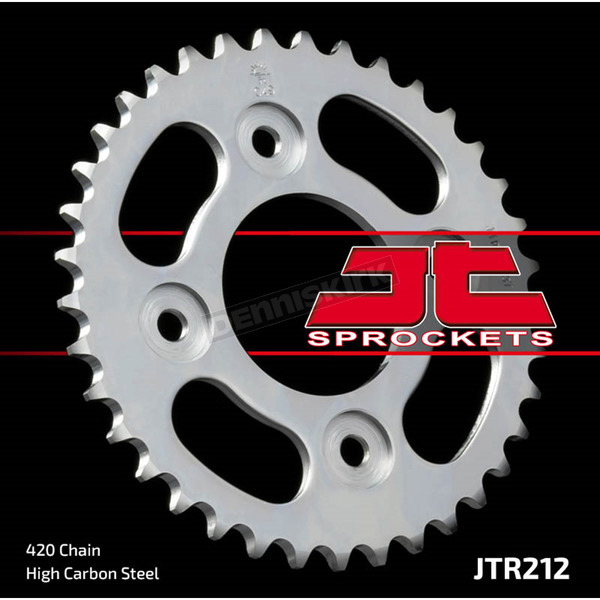 JT Sprockets Rear 420 35 Tooth C49 High Carbon Steel Sprocket - JTR212.35